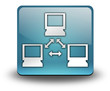 "Light Blue 3D Effect Icon ""Network"""