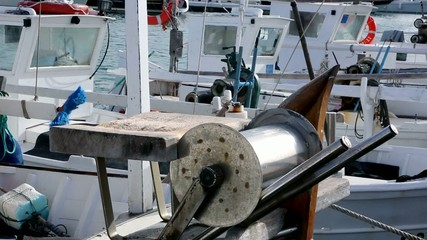 Balearic islands Formentera llaut traditional fisherboats