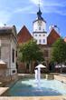 Leinwanddruck Bild - Jenaer Rathaus