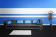 Modern Luxury Loft Interior / Luxury couch