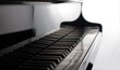 classic pianoforte close up