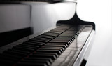Fototapety classic pianoforte close up