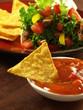 Tortilla with nachos
