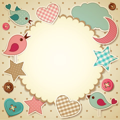 Scrapbook background