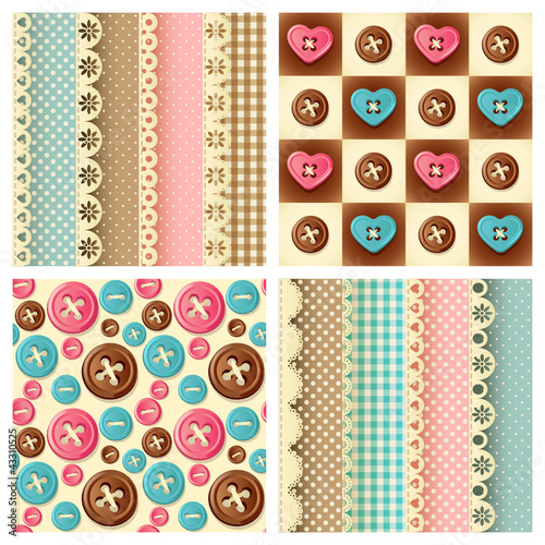 craft seamless pattern