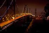 Fototapeta gród - Światła - Most