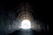 Long Dark Tunnel With Light At The End - 43312748