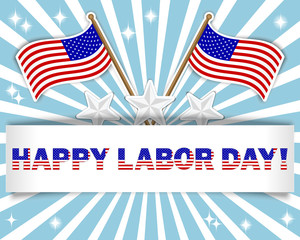 Labor Day background.