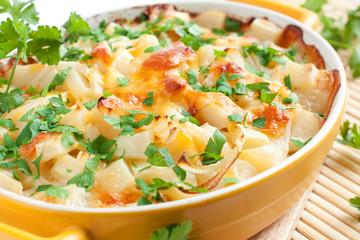 Рotato gratin with cheese