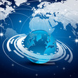 planète, réseau/connexion/partage