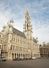 Brussels - The main square and Town hall