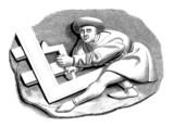 Menuisier - Schreiner - Joiner - 15th century poster