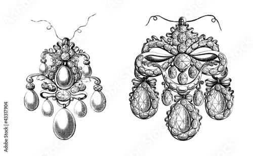 Ancient Jewels : Pendants - 17th century