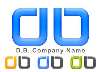 D.B. Company Logo