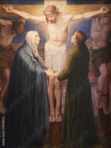 Gent - Crucifixion paint - st. Peter s church - 43318572