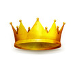 Crown, old-style isolated