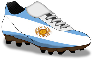 shoe of Argentina  (more in gallery)