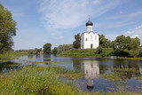 Golden Ring of Russia. Church of Intercession upon Nerl River