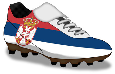 shoe of Serbia (more in gallery)