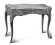 Table : Style Louis XV - 18th century