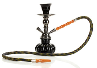 hookah isolated on white background