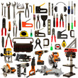 Tools Isolated on a White Background - 43328505