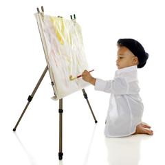 Busy Little Artist