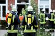 Feuerwehr unter Atemschutz