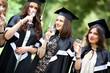 Bachelor graduates celebrate