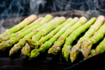 grilling asparagus