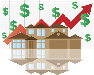 House Rising Value Graph