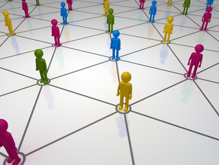 Social Network of Diverse People