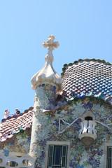 Facade in Barcelona