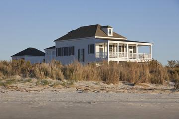 Elegant house on beach