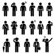 People Man Male Fashion Wear Body Accessories Pictogram