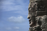 Stone face in Avalokiteshvara, Bayon Temple