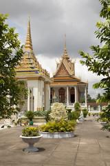 Cambodian pagoda
