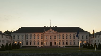 Bellevue Palace at Sunset