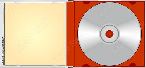 CD für Beschriftung