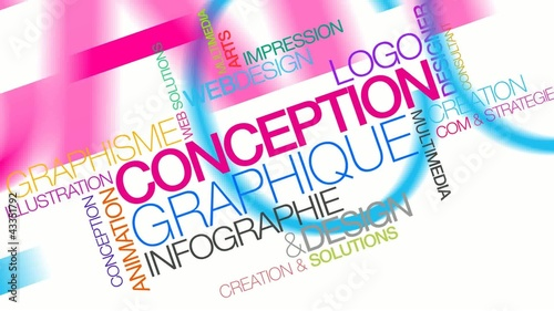 Animation Conception graphique infographie video