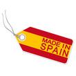 Anhänger mit  MADE IN SPAIN