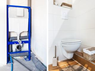 Travaux rénovation toilettes
