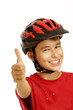 boy bike helmet