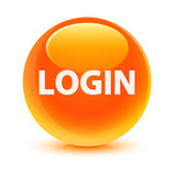 Login Orange Button