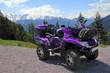 Mit dem ATV auf der Pöllerhöhe in Österreich