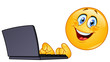Emoticon with computer