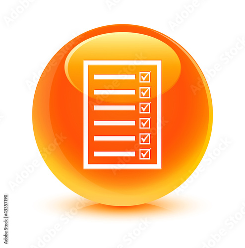 Services Orange Button