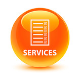 Services Icon Orange Button