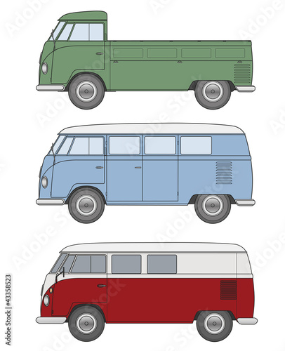 Bus - Oldtimer (Bulli)