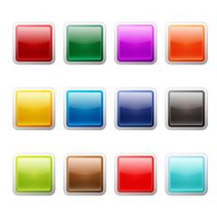 ボタン12セット(カラフル)